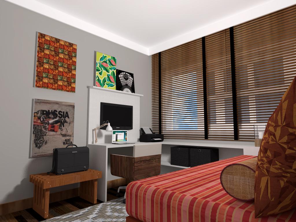 Home Office + Hospedes 02