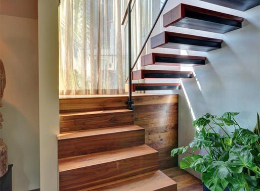 22 Lindas Escadas Flutuantes