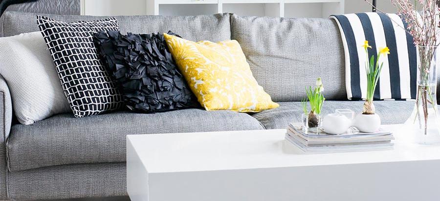 Renovando ambientes utilizando ALMOFADAS na decoração