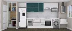 Cozinha - Corte Frontal
