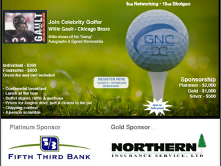 Join Willie Gault at our annual Golf Outing, register now!