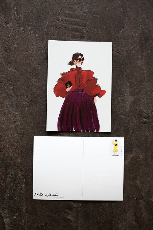 "Postkarte ""ChiC"""