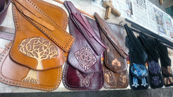 Handbags ready to be laced up
