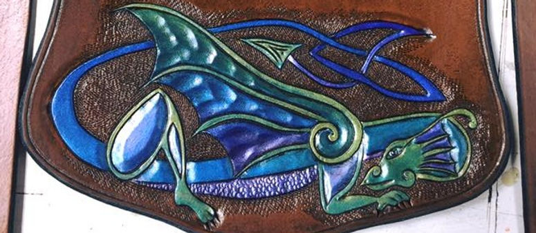 carved leather handtooled