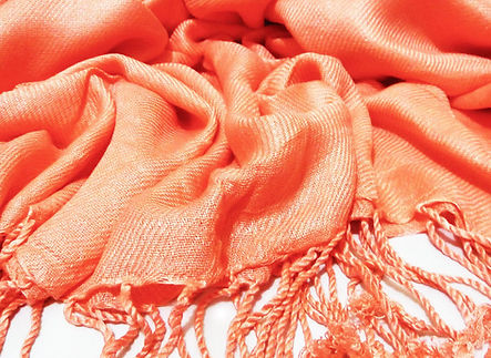 Promotional custom-made bespoke scarves with branding, wool pantone matched pashminas, stole scarf with tassels.