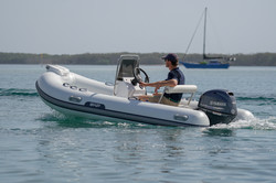 driving a boat 9-3