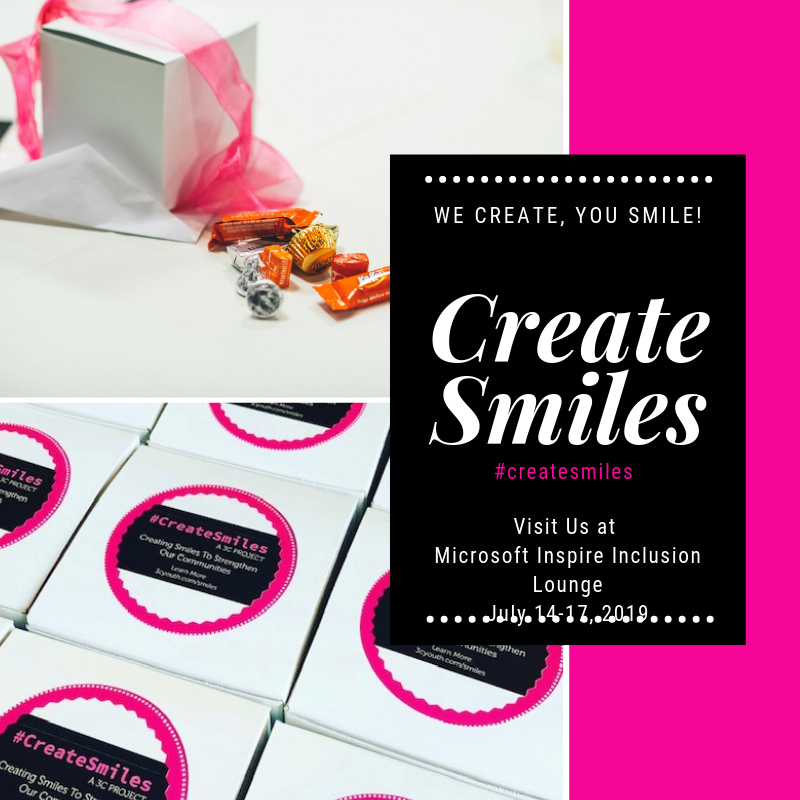 Create Smiles at Inspire 1