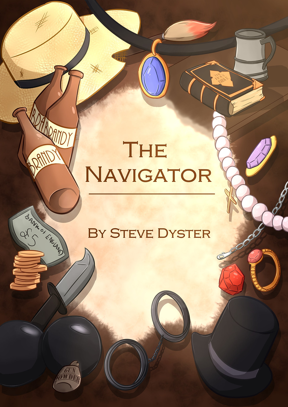 The Navigator Front Cover Steve Dyster Book Story fiction read