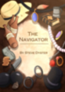 Front cover of The Navigator, short stroes by Steve Dyster
