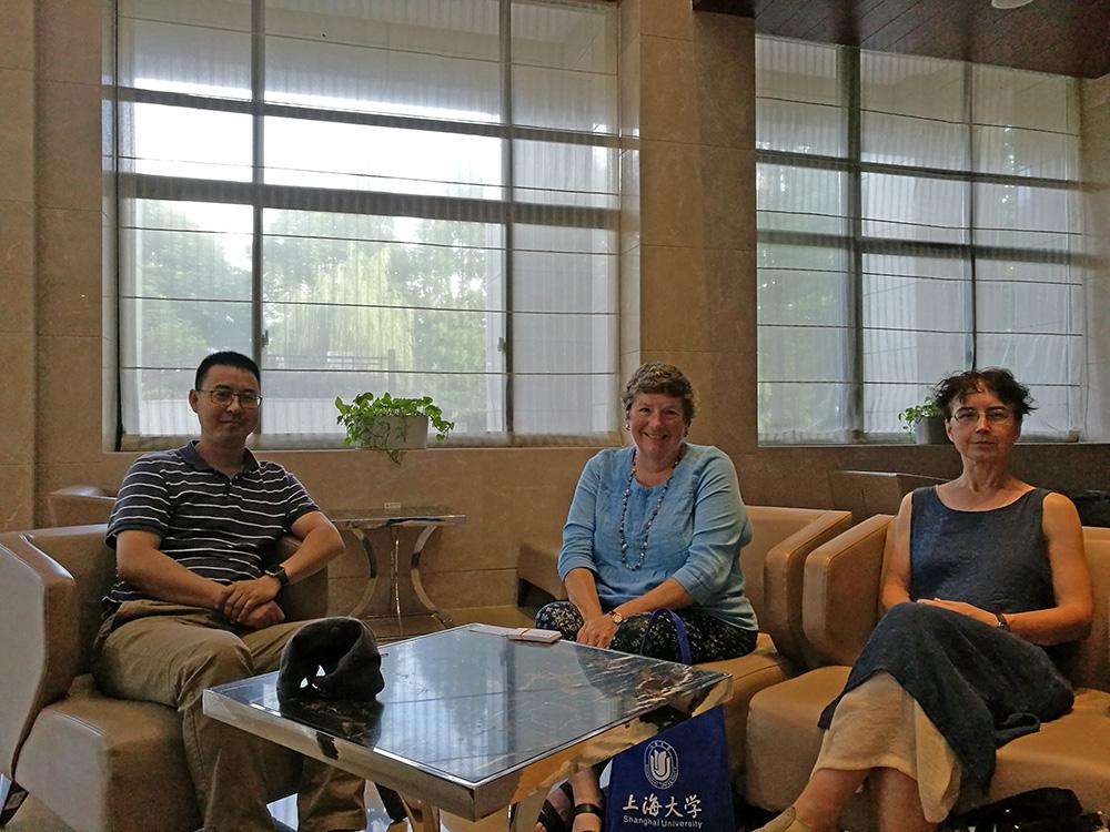 With Prof. Yong'an Zhang, Prof. Iris Borowy