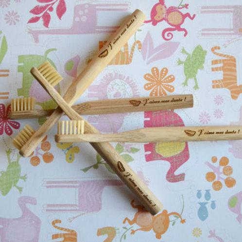 Brosse à dents écologique  Bambou