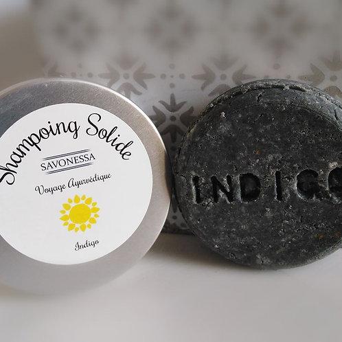 Shampoing Solide Ayurvédique Bleu Indigo