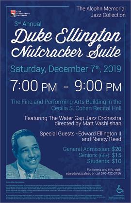 Duke Ellington Winter Concert Poster