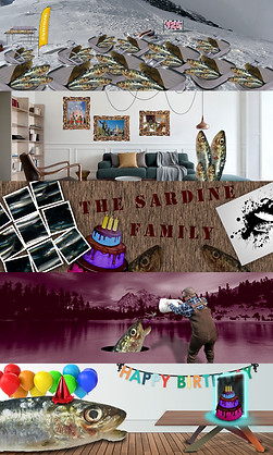 Sardine Family Reunion Photoshop Tennis