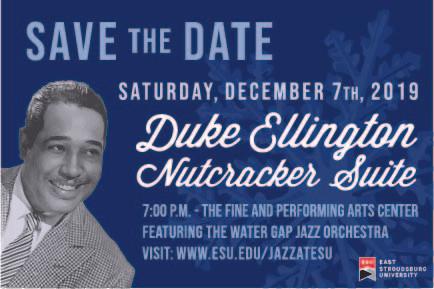 Duke Ellington Winter Concert Save the Date