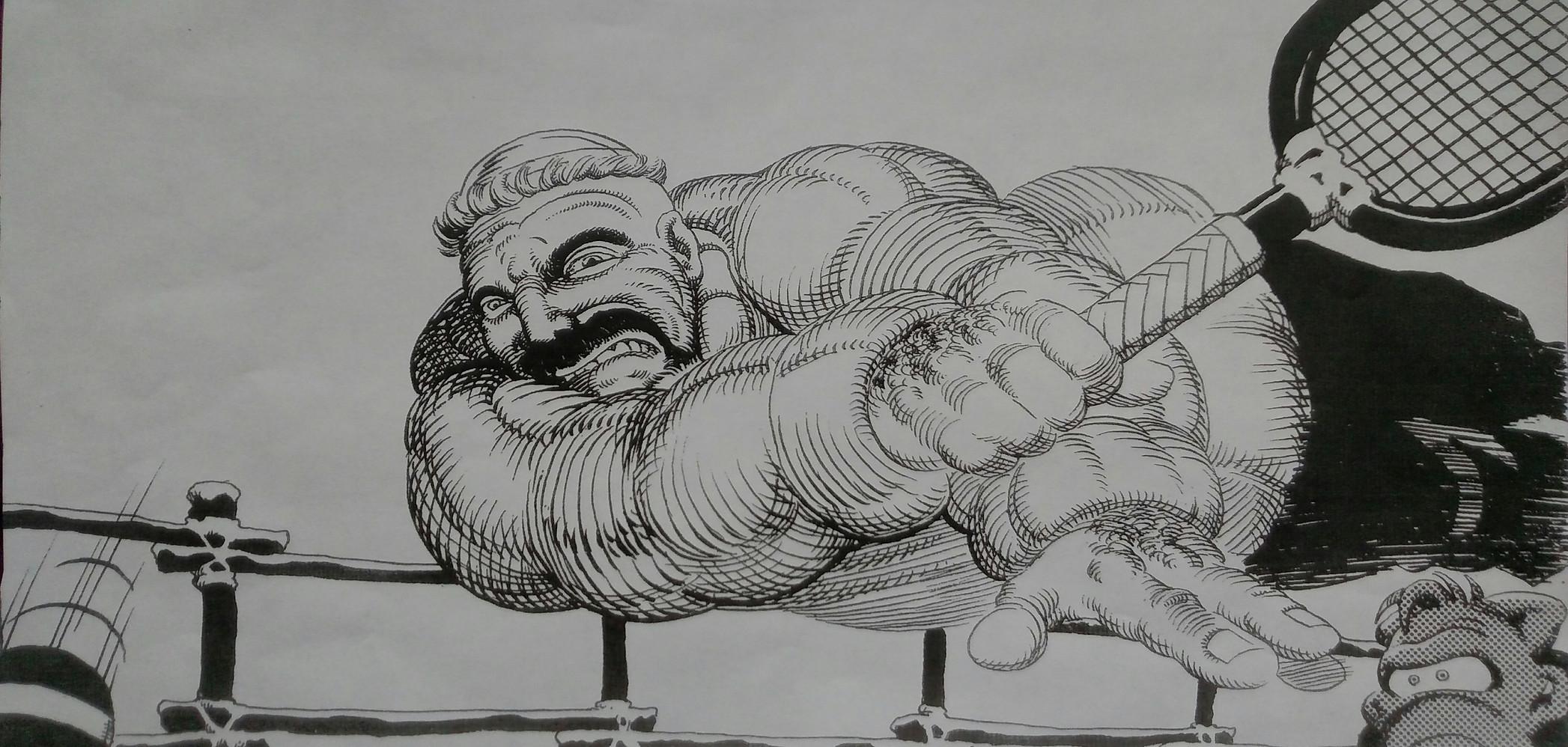 Original Artwork by Dave Sim