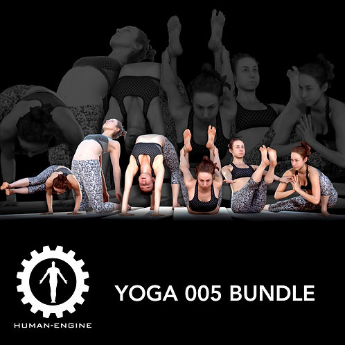 Yoga 005 bundle 3D Model