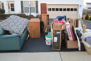 Specia pickup of household items