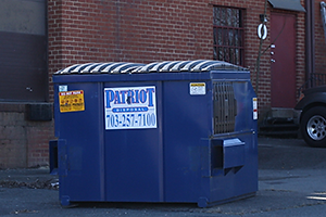 Patro Disposal commercial fronload container