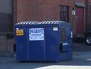 Patriot Disposal fronload container