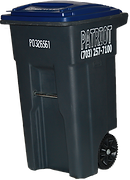 32 gallon reccing cart