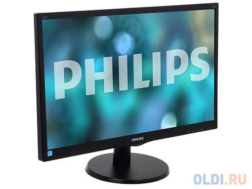 """23.6"""" PHILIPS LED 243V5LHAB Black"""