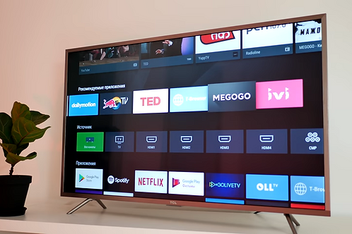 """TCL U43P6046 43"""", UHD, Android TV 6.0"""