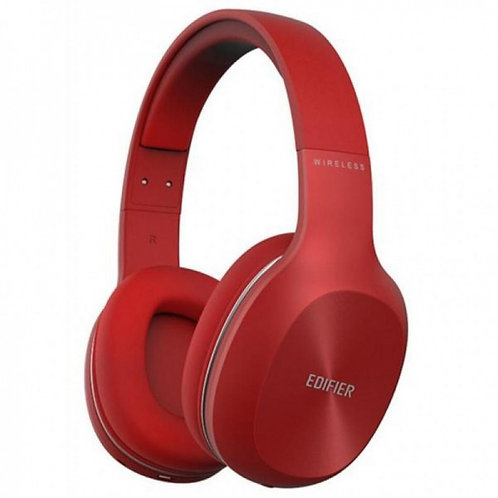 Edifier W800BT Red / Bluetooth and Wired On-ear headphones with microphone
