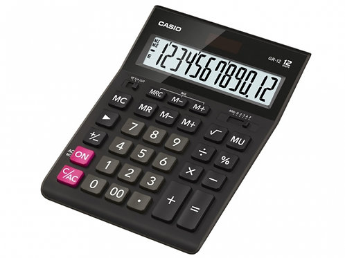 Calculator Canon AS-120, Black, 12 digit , Large LCD