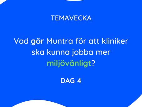 Vad gör Muntra för att ni ska kunna jobba mer miljövänligt?