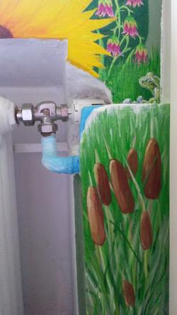 Wandmalerei Detail 12