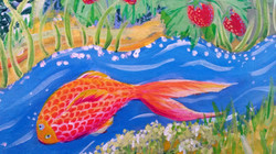 Wandmalerei Detail 15