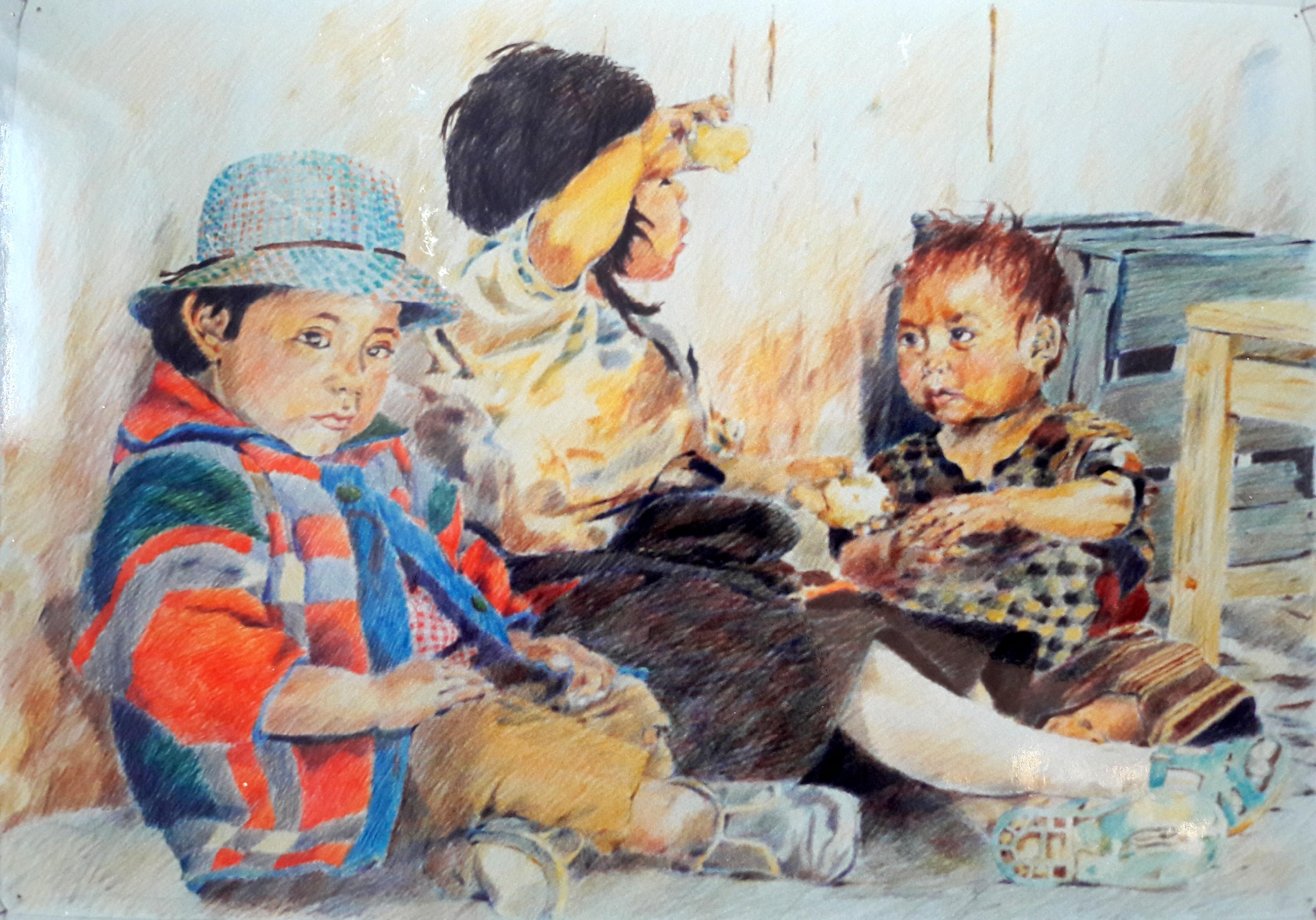 Mexikanische Kinder