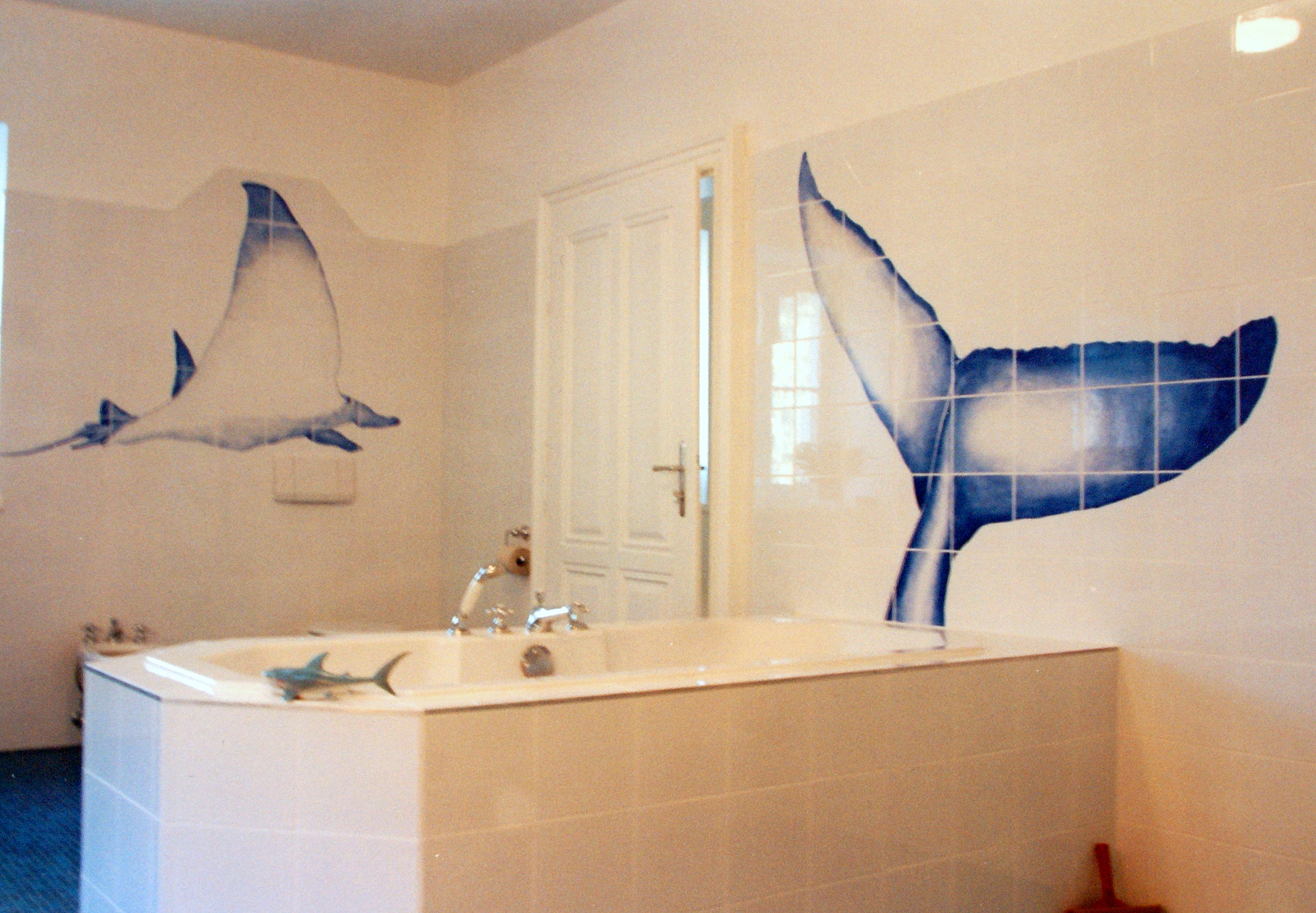 Badezimmer 1 Wandgestaltung