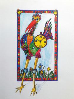Der Uhrenvogel