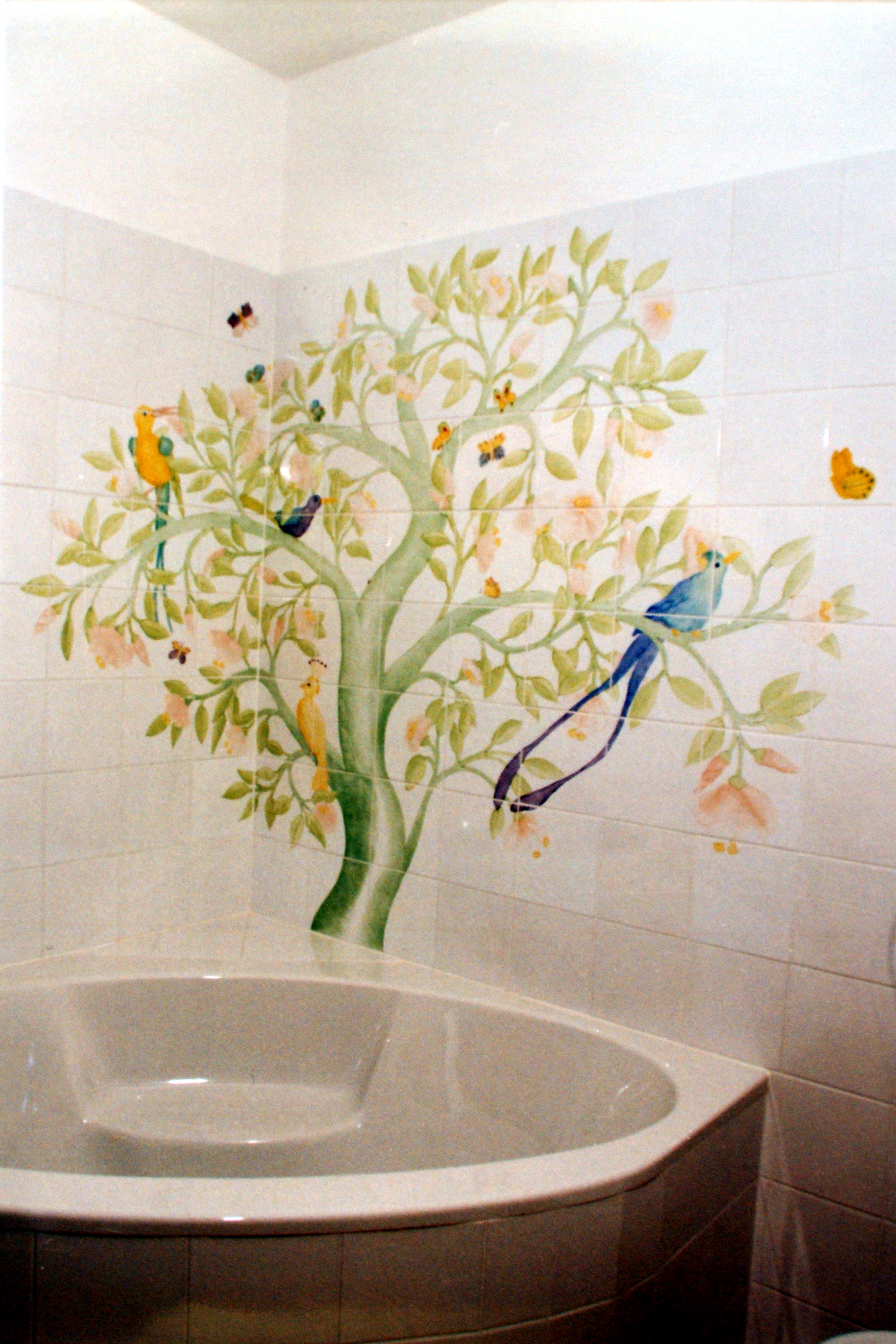 Badezimmer 2 Wandgestaltung