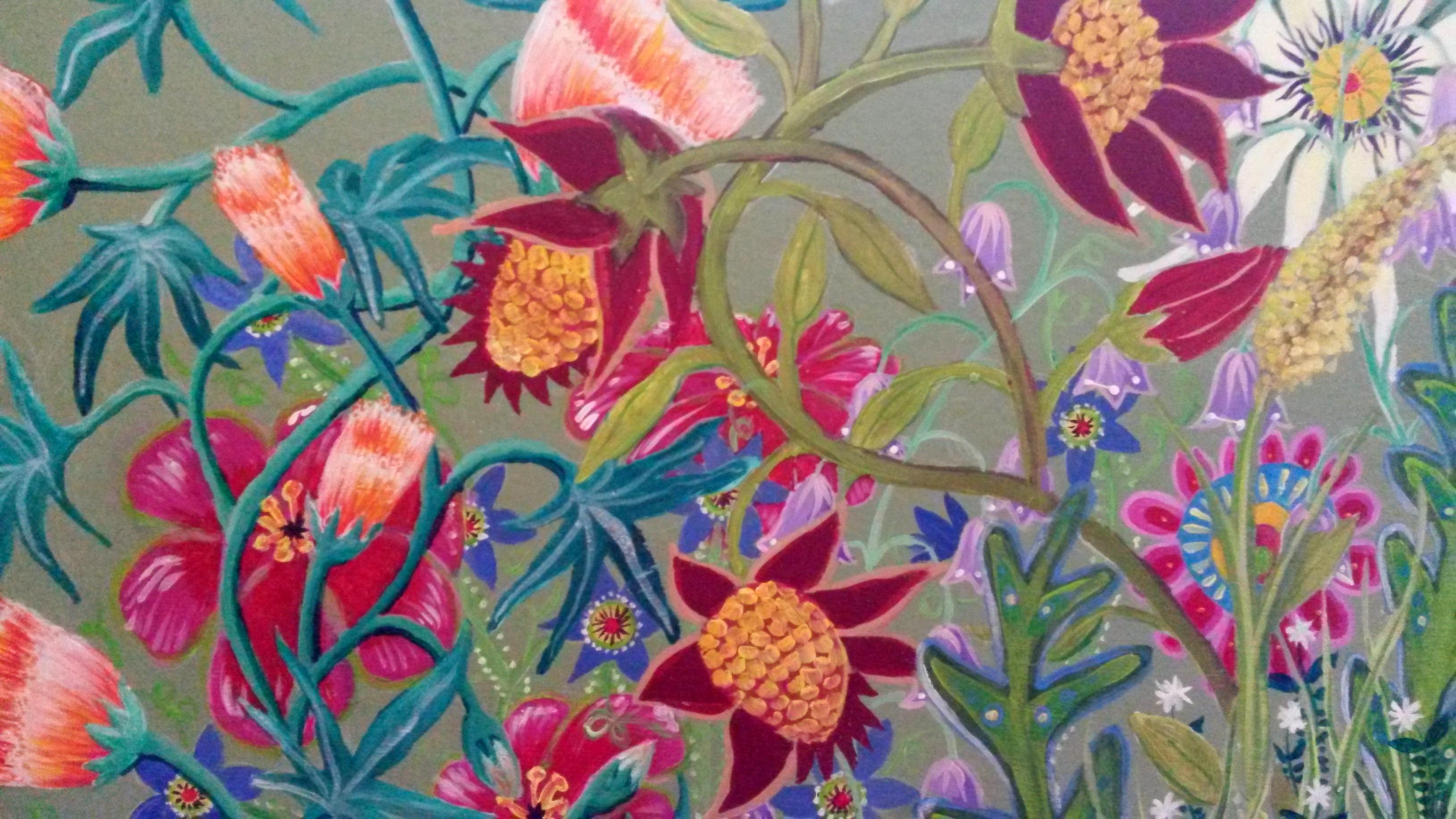 Wandmalerei Detail 9