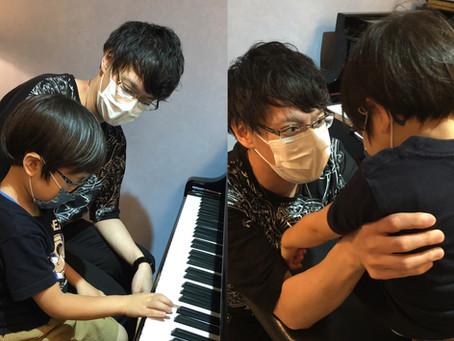 【江東区の音楽教室】年中さんも頑張っています!