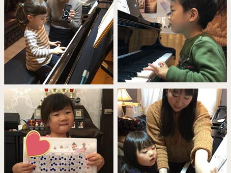 【江東区の音楽教室】2歳&3歳児さんも頑張ってます!