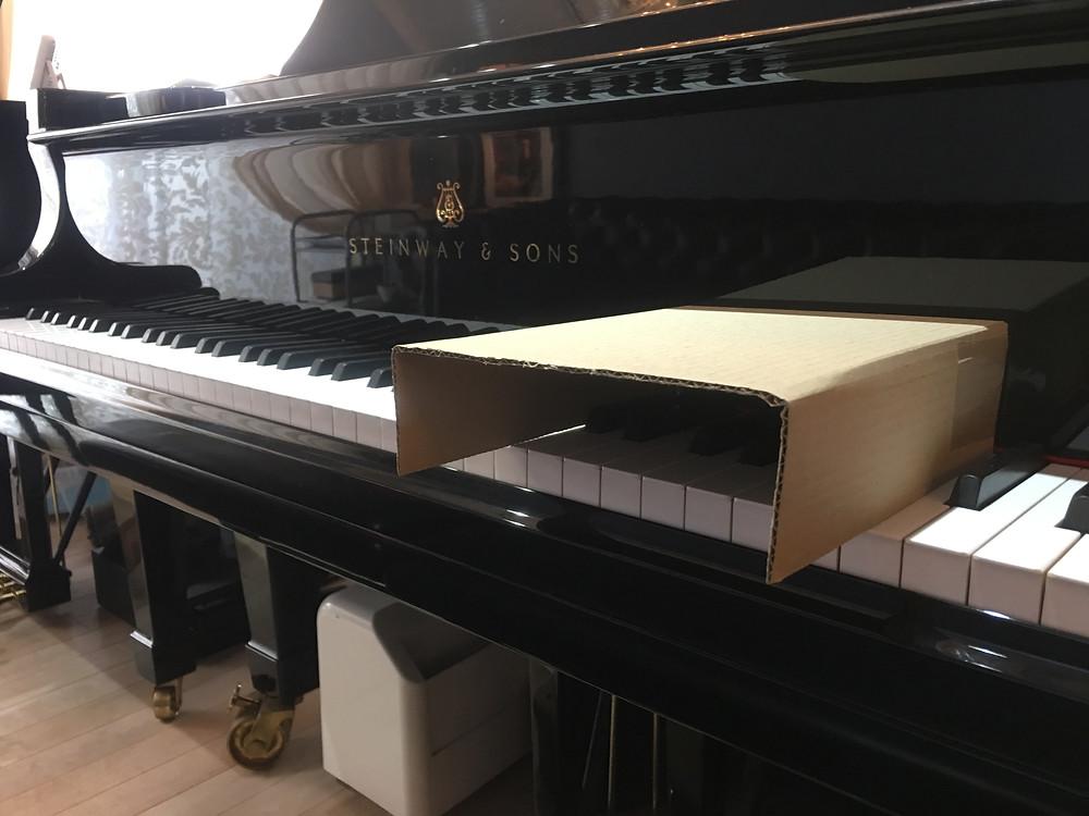 家にあるものでできる、ピアノの姿勢の改善法