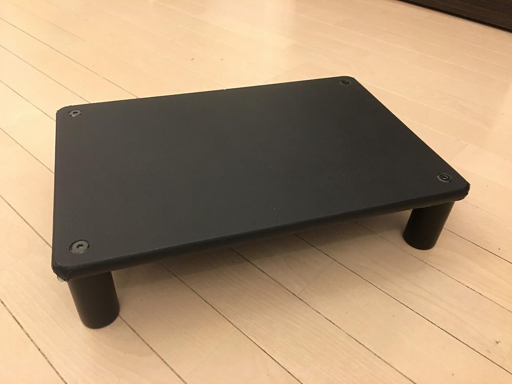 手作りのピアノ足台です。激安!!作ってよかった〜