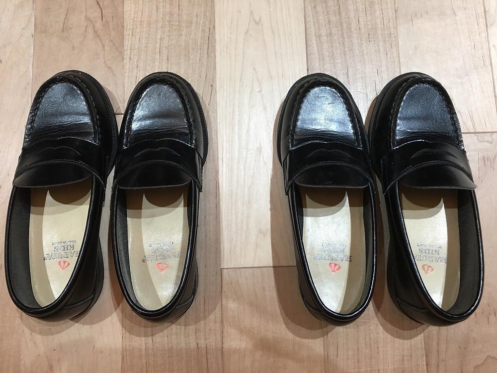 左左&右右の靴
