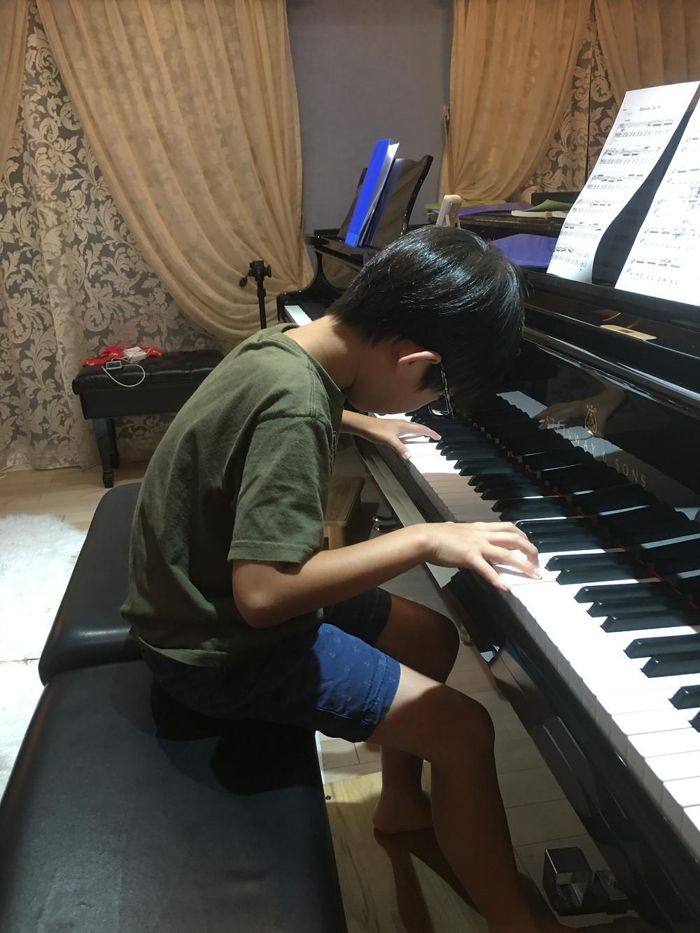 ピアノの姿勢を直す!