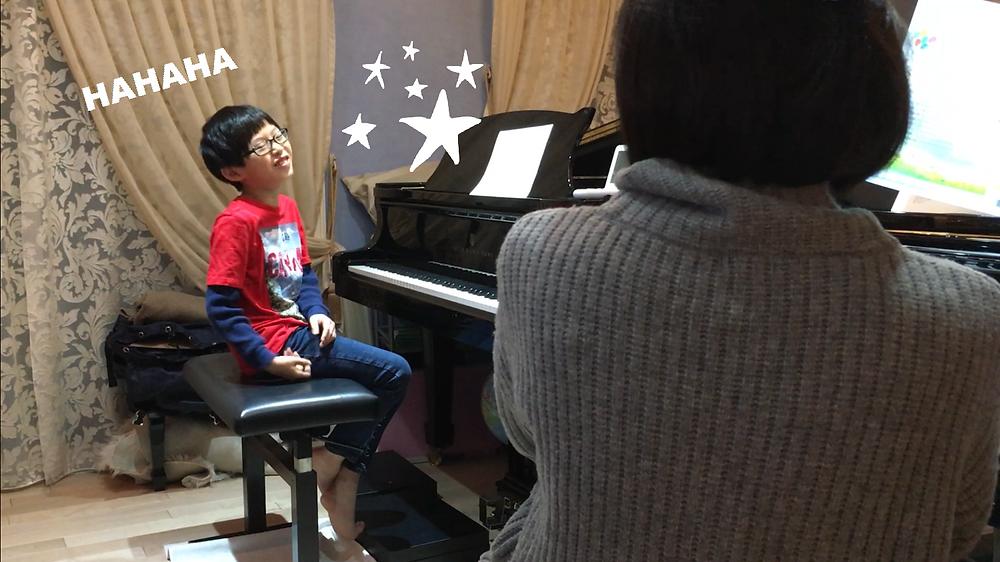 ピアノは息抜きにもなります