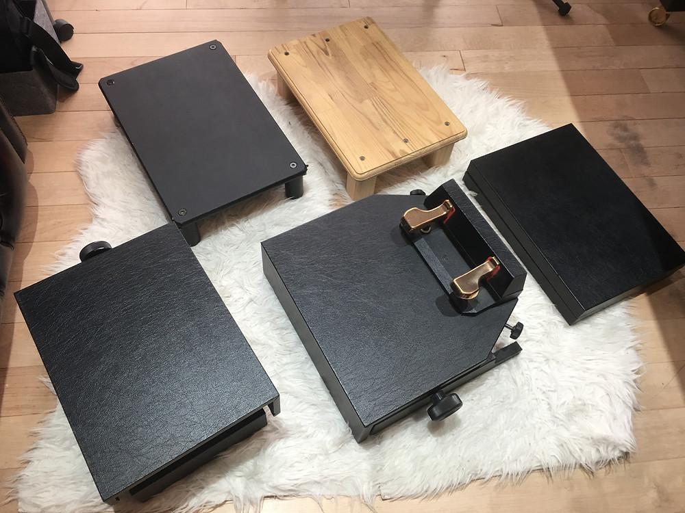 自慢のピアノ足台コレクション
