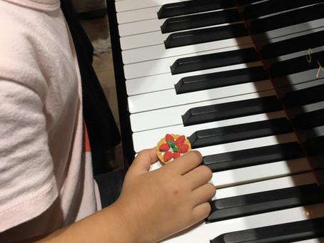 【幼児さんレッスン】手の形をしっかりつくろう!練習のコツ✨