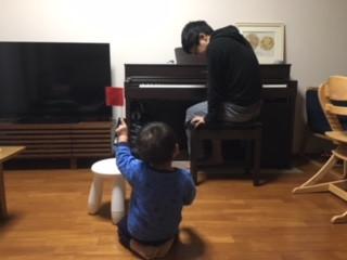 パパ大活躍!絶対音感のお家でのトレーニング