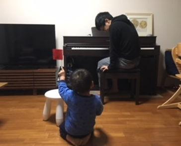 パパと一緒に絶対音感