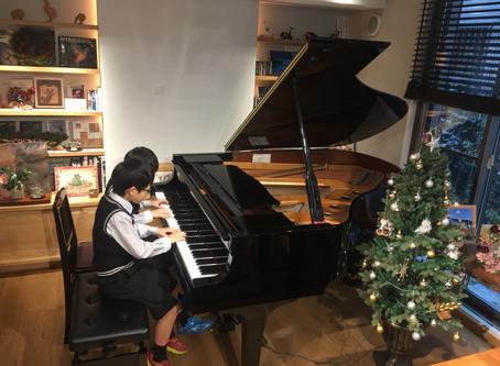CRECERピアノ教室のクリスマス会を行いました🎄②