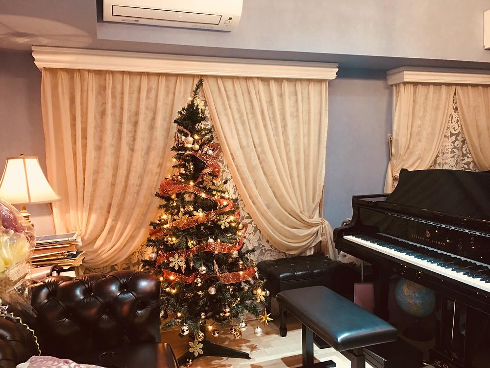 180cmのクリスマスツリー